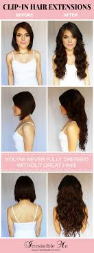 Hair Style Before And After 21 best hair extensions images extensions wig and 8636 by wearticles.com
