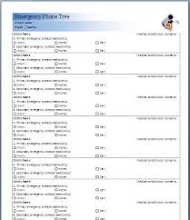 emergency contact template emergency contact list template sample format