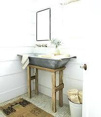 galvanized decor designs for metal tub farmhouse sink decoration decorative houses