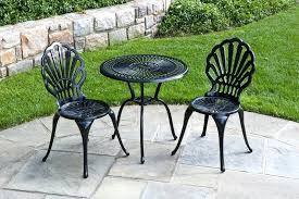 ideas metal patio set and stunning furniture sets garden 6450
