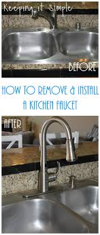 Moen Motionsense Kitchen Faucet Keeping It Simple How To Remove And Install A Kitchen Moen Faucet