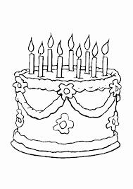 Kleurplaat Verjaardag Oma Fris Verjaardagstaart Kleurplaat Fris