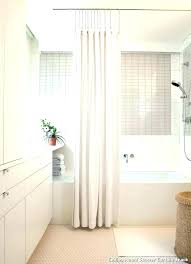 how to hang a shower curtain rod ceiling rods hanging from with best install perma how to install shower rod curtain