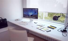 stylish home office computer room. Stylish Home Office Computer Room. Add Futuristic Table Lamp On Modern White Desk Near Room