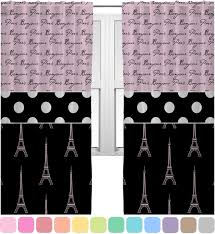 Beautiful Eiffel Tower Bedroom Curtains Pictures