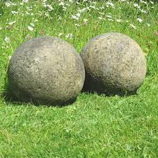 Stone Ball Garden Decoration Impressive Stone Ball Garden Decoration Garden Designs