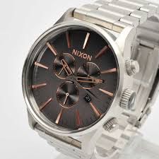 new nixon mens watch the sentry chrono gray rose gold a386 2064 new nixon mens watch the sentry chrono gray rose gold a386 2064 a3862064