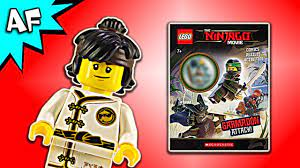 Lego Ninjago Movie: Garmadon Attack! Activity Book with Cole Minifigure -  YouTube