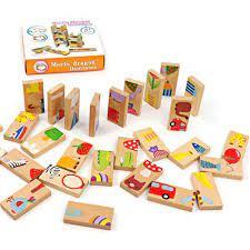 Bộ đồ chơi ghép hình, rút gỗ, nối hình domino bằng gỗ, bộ xếp gỗ thông  minh, gỗ tự nhiên, chất liệu sơn an toàn cho bé