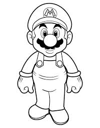 Small Picture Picture of Super Mario Brothers Coloring Page Color Luna