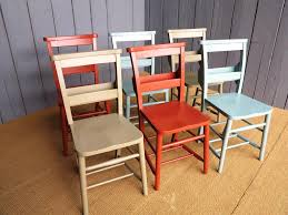 vintage school chairs with casters
