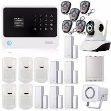 security alarm wifi gsm gprs wireless home security alarm system