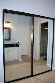 how to paint sliding glass door frame mirror closet door makeover rubbed bronze spray paint the frames paint metal sliding glass door frame