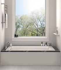 fine fixtures 60 x 30 alcove soaking bathtub