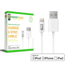 gadget boy gadget juice apple mfi certified lightning to usb gadget juice apple mfi certified lightning to usb cable ultra series charger for iphone
