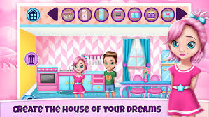 my play home decoration games create a virtual doll house for