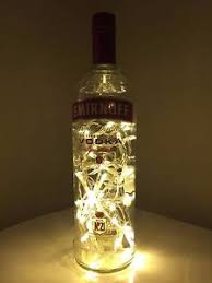 image is loading smirnoff vodka 1l upcycled bottle l warm battery