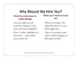 why should we hire you interview question why should i hire u interview questions