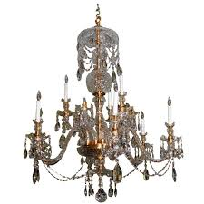 custom made to order cut crystal chandelier from one to three tiers for