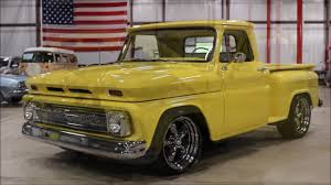 1965 Chevy Pickup yellow - YouTube