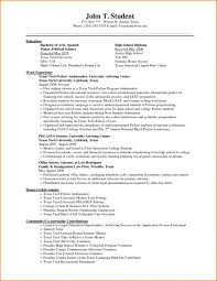 High School Education Resume Musiccityspiritsandcocktail Com