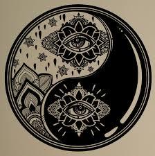 Small Picture Aliexpresscom Buy Wall Decal Yin Yang Symbol Vinyl Sticker Zen