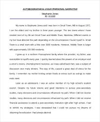 writing a personal essay examples com writing a personal essay examples 8 sample personal autobiographical essay personal autobiographical essay