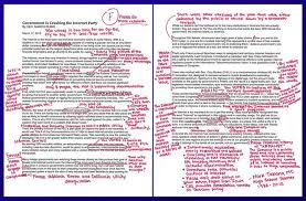 image result for red pen corrections alice notes  image result for red pen corrections