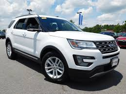 pre owned 2016 ford explorer xlt suv in cary pu11066 hendrick dodge cary