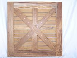 real teak wood round indoor outdoor table top