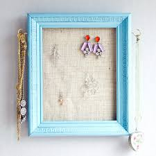 Jewelry Organizer Diy Diy Jewelry Holder Simple Yet Pretty Ideas