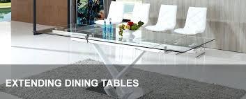 dining tables glass extending. full image for extending glass dining tables table sets uk luna 140cm e