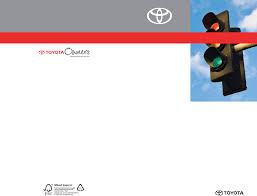 2010 Toyota Matrix Owners Manual PDF