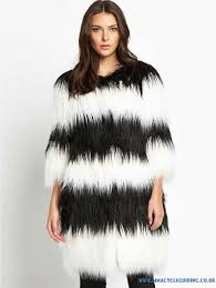 hu535726 sel three quarter sleeve faux fur coat women s jackets