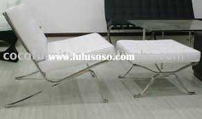 Barcelona Chair Style Barcelona Chair Cushions Spanish Pavilion Chair And Ottoman 5