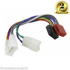 ct20ty01 wiring harness adaptor iso for toyota supra tacoma tercel image is loading ct20ty01 wiring harness adaptor iso for toyota supra