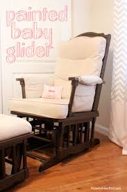 painted baby furniture. Painted Baby Glider Furniture