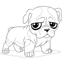 Small Picture Pug Coloring Pages GetColoringPagescom