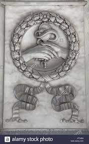 hand holding mirror drawing. Two Hands Holding A Mirror And Snake Depicted On One Of The Marble Funeral Monuments At Staglieno Monumental Cemetery (Cimitero Monumentale Di Hand Drawing