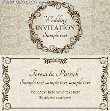 Free Invitation Card Template You Get Ideas From This Site