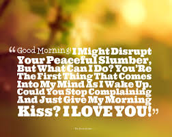 Good Morning Quotes For My Girlfriend