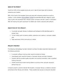 Training Proposal Template One Page Business Plan New Format