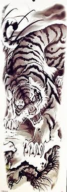 B Top Vodeodolne Docasne Tetovani Motiv Gepard Cerna Levně Blesk Zboží
