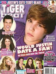 Teen magazines tiger beat
