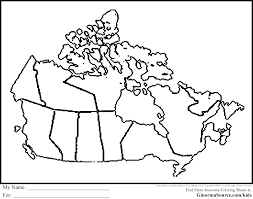 Small Picture Canada Coloring Pages Map Coloring Pages Pinterest Social