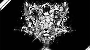 無料壁紙ライオンをデザインしたかっこいいイラスト画像まとめ