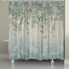 gray and blue shower curtain. laural home® dream forest shower curtain in grey/blue gray and blue i