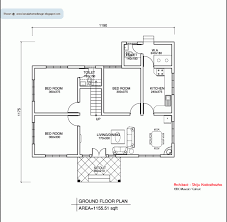 3 bedroom house plans indian style. south indian traditional house plans - google search 3 bedroom style