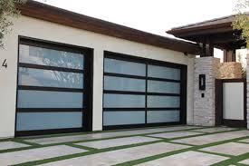 aluminum glass garage doors wood