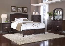 Modern Dark Wood Bedroom Set Plan Pertaining To Desire